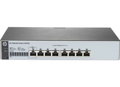 Коммутатор HP 1820-8G Smart Switch, 8xGE ports, L2, Inline PoE, LT Warranty (J9979A)