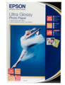 Бумага Epson 100мм на 150мм Ultra Glossy Photo Paper, 50 листов (C13S041943)