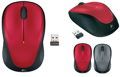 Мышь Logitech M235 WL Red