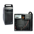 Корпус MidiTOWER ATX P460W GOLDEN FIELD 3302B(USB-3 CARD R)