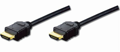 Кабель ASSMANN HDMI High speed + Ethernet (AM/AM) 2.0m, black