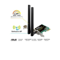 WiFi-адаптер ASUS PCE-AC51 802.11ac, 2.4/5 ГГц, AC750, PCI Express