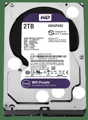 Жесткий диск WD 3.5 SATA 3.0 2TB IntelliPower 64MB Cache Purple