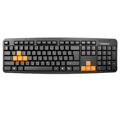 Клавиатура FrimeCom FC-838-USB BLACK+ ORANGE