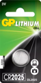 Батарейка GP Lithium Cell CR2025-8U5 (литиевая)