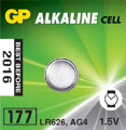 Батарейка GP Alkaline Cell 177-U10 1.5V (щелочная)