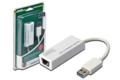 Адаптер DIGITUS USB 3.0 to Gigabit Ethernet, white