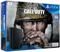 Игровая приставка SONY PlayStation 4 Slim 1Tb Black (Call of Duty WWII) (9942269)