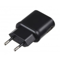 Сетевое ЗУ Kit EU USB Mains Charger 1A (black)