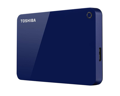 "Внешний жесткий диск 2.5"" USB 1.0TB Toshiba Canvio Advance Blue (HDTC910EL3AA)"