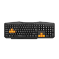 Клавиатура FrimeCom FC-302-USB BLACK+ORANGE