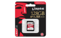 Карта памяти Kingston 128GB SDXC C10 UHS-I U3 R100/W80MB/s