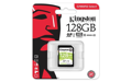 Карта памяти Kingston 128GB SDXC C10 UHS-I R80MB/s