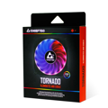 Корпусный вентилятор CHIEFTEC TORNADO ARGB fan,120мм,1200обм/мин,6pin,16dBa,Single pack w/o HUB
