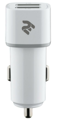 Автомобильное ЗУ 2E Dual USB Car Charger 2.4A&2.4A, white