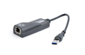 Адаптер Gembird NIC-U3-02, с USB на Gigabit Ethernet