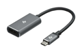 Адаптер 2Е Type-C to DisplayPort, Alluminum, 0.2м