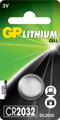 Батарейка GP Lithium Cell CR2032-8U5 (литиевая)